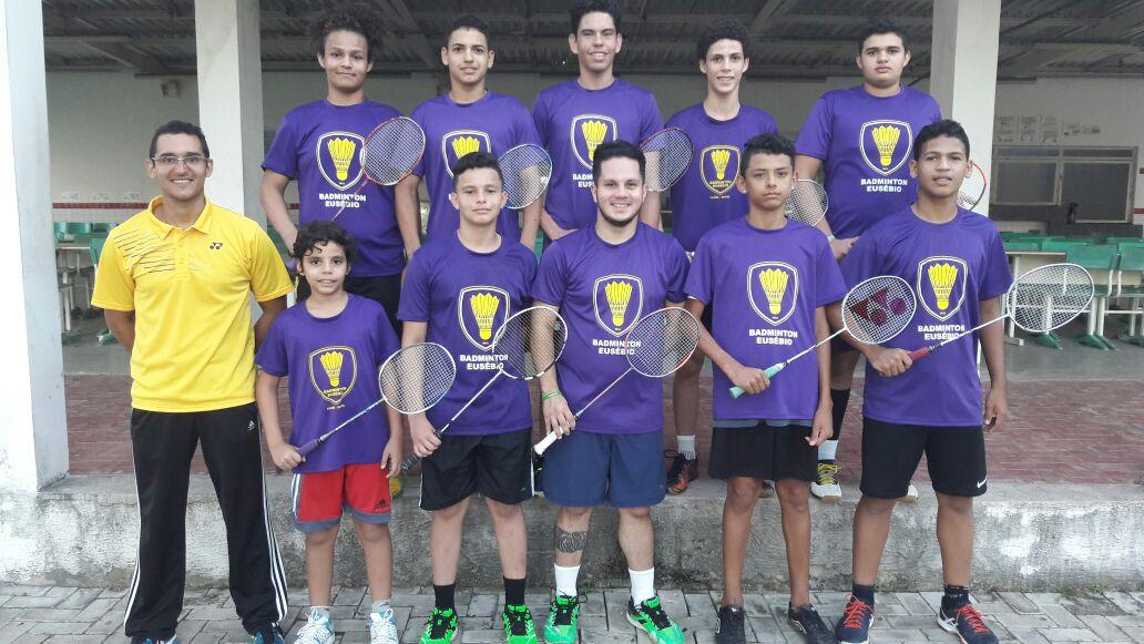 Seleção de Badminton de Eusébio disputa Campeonato no Maranhão