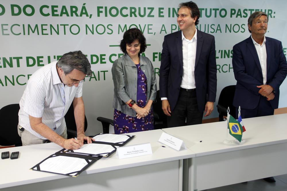Eusébio é beneficiado com a parceria entre o Instituto Pasteur, Fiocruz e o Governo do Ceará