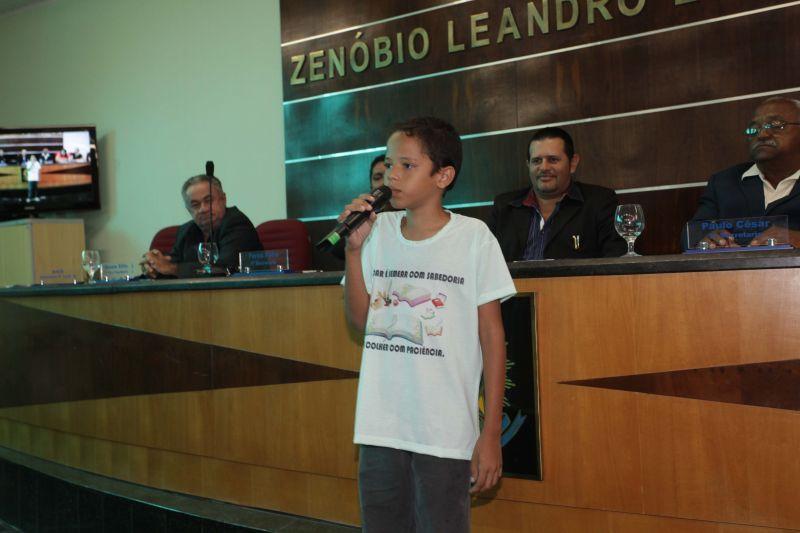 Aluno da rede municipal de ensino representará o Ceará em Brasília