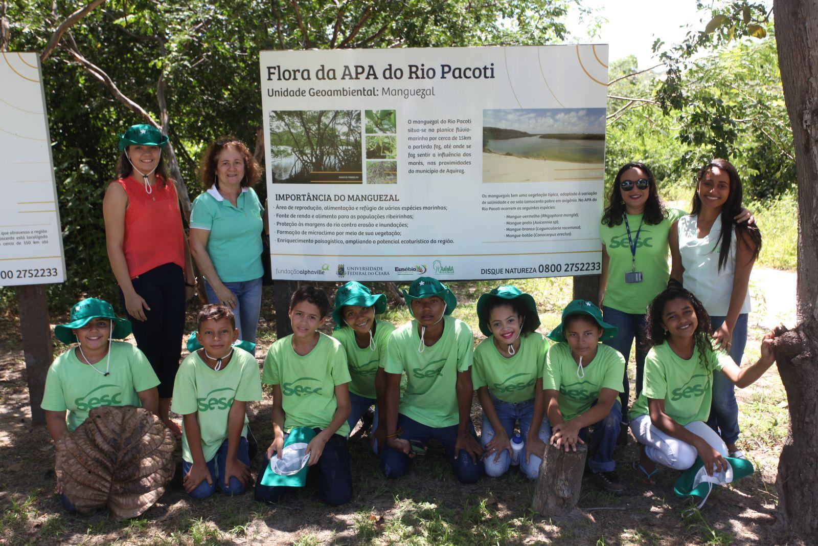 Eusébio lança em parceria com o SESC, projeto de preservação ambiental da APA do Rio Pacoti