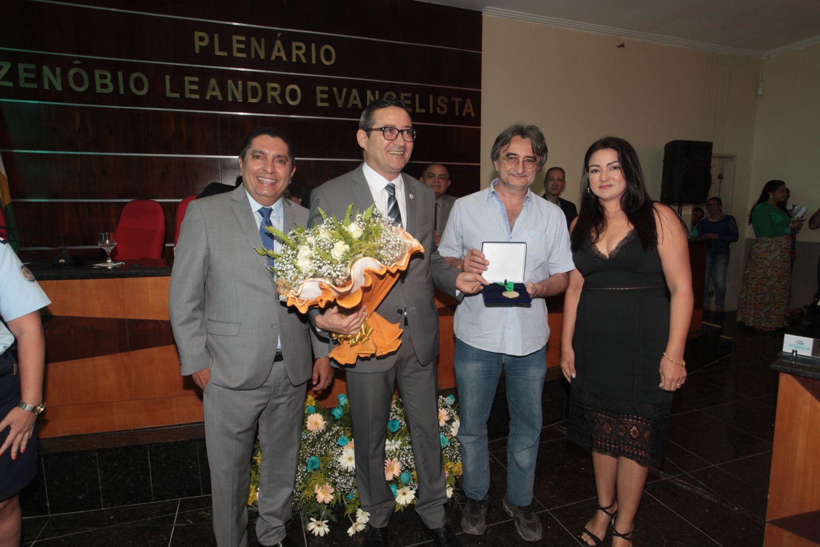 Paulo César Feitosa Arrais recebe medalha Eusébio de Queiroz