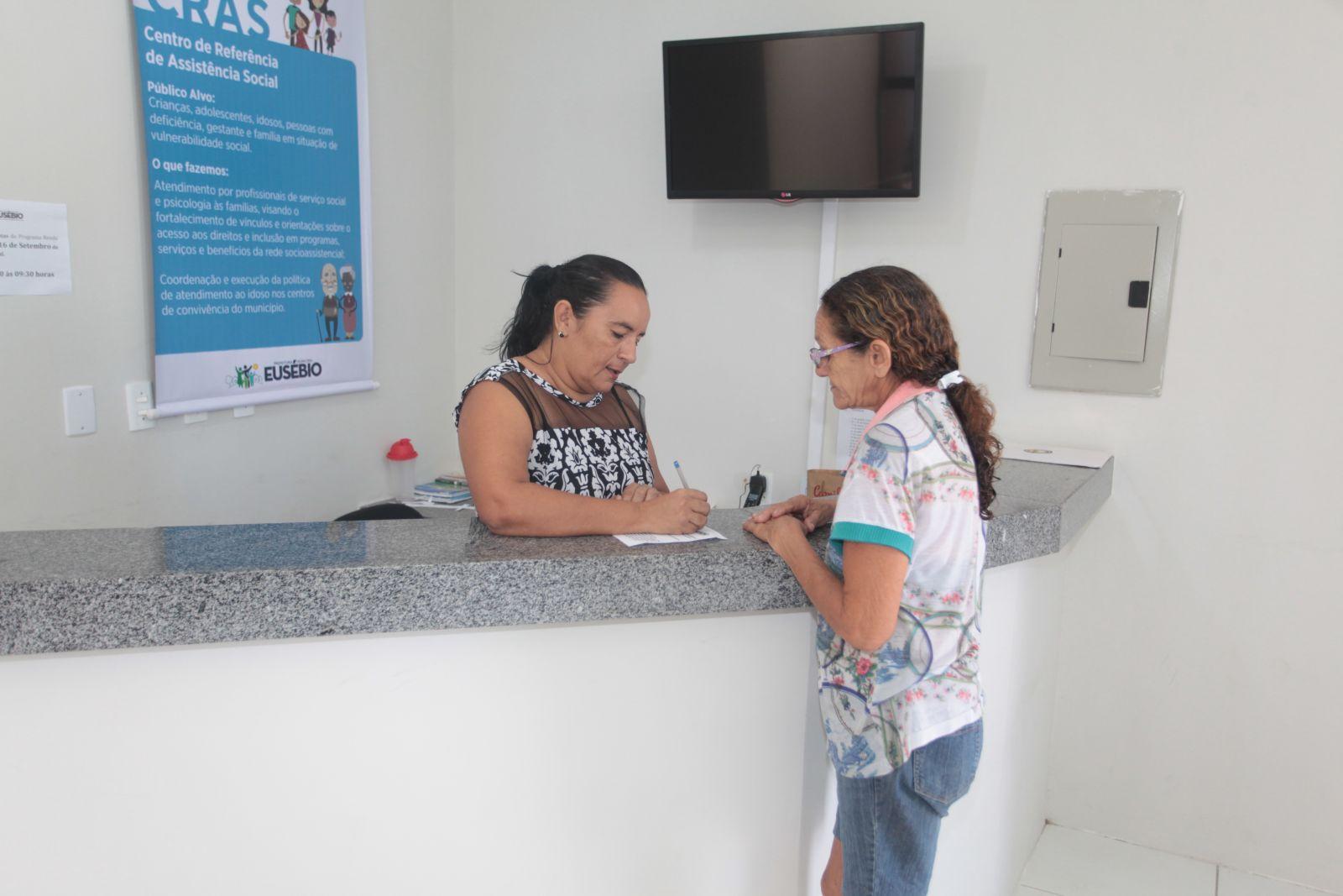 CRAS Sede atende população de 11 bairros de Eusébio