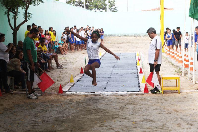Eusébio realiza fase municipal do projeto Atleta na Escola