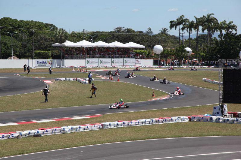 Eusébio sediou 2ª etapa do Campeonato Brasileiro de Kart