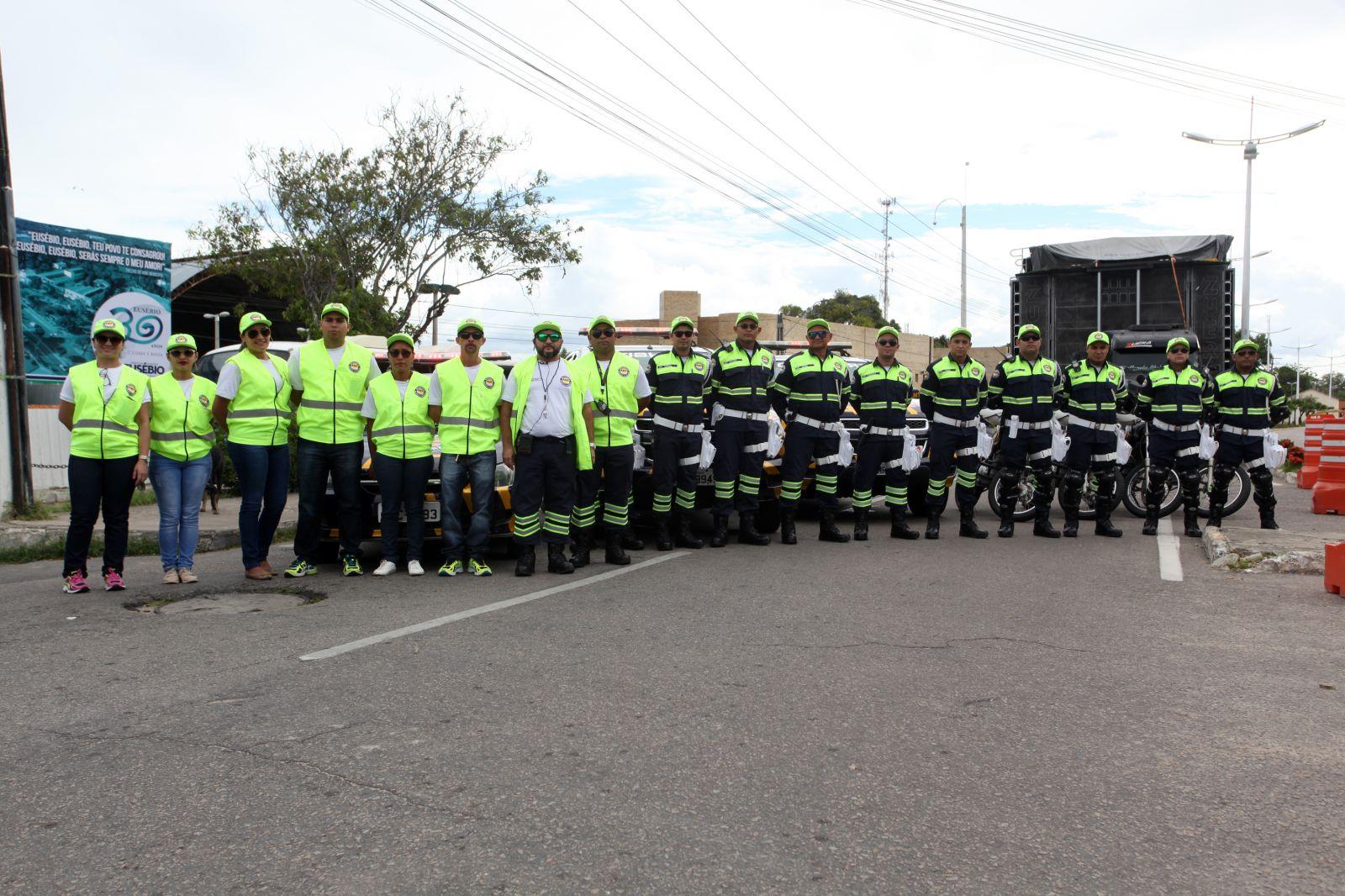 AMT recebe melhorias para otimizar o controle e fiscalização do trânsito no Eusébio