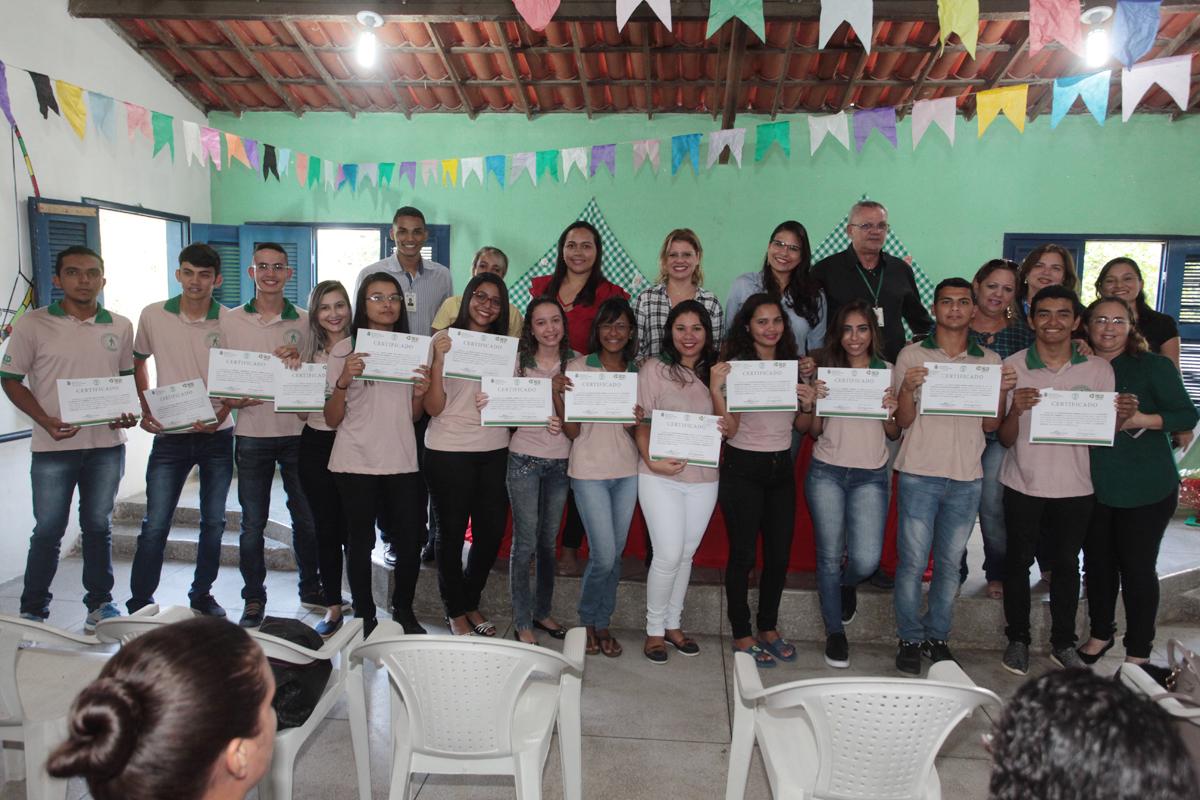 Eusébio forma turma do Jovem Aprendiz 2016/2017