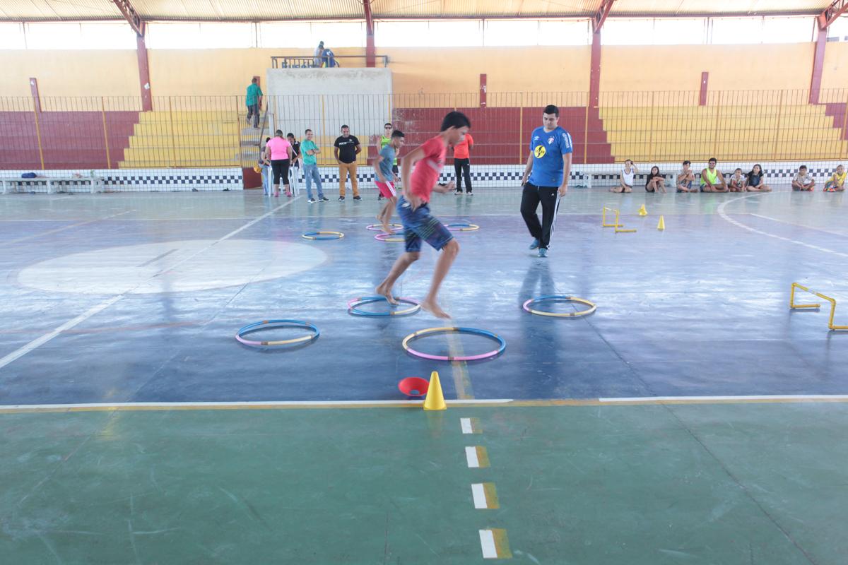 Prefeitura de Eusébio realiza projeto Brincando com o Esporte neste mês de julho