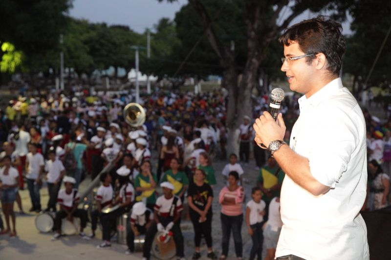 Eusébio comemora Semana da Pátria