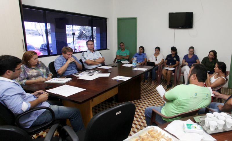 Prefeitura de Eusébio realiza reunião do Gabinete de Gestão Integrada