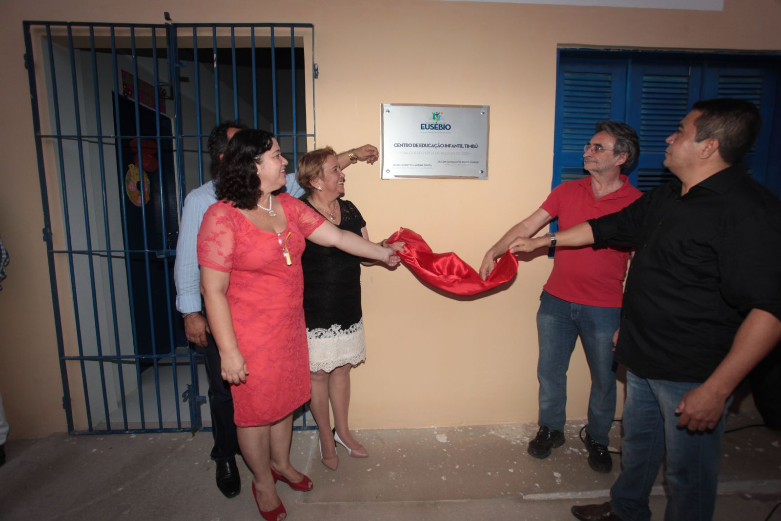 Prefeitura de Eusébio entrega o CEI do Timbú