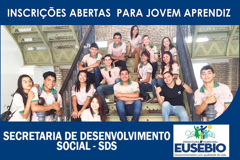 Prefeitura de Eusébio abre inscrições para o programa Jovem Aprendiz 2017