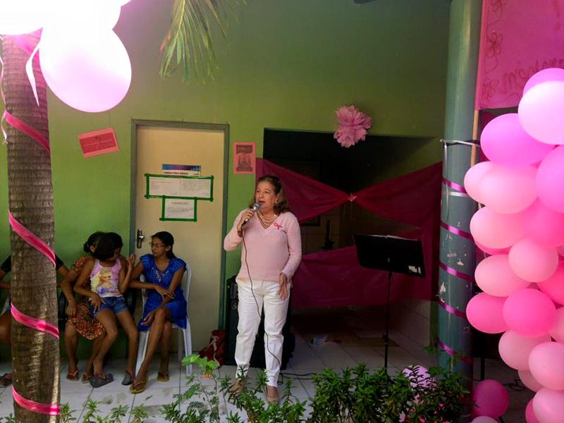 Posto do Autódromo realiza Encontro das Mulheres contra o câncer de mama