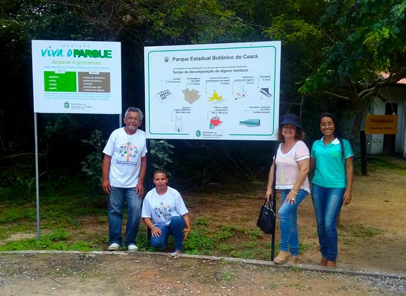 Eusébio participa de reunião para implantação da Coleta Seletiva no Estado