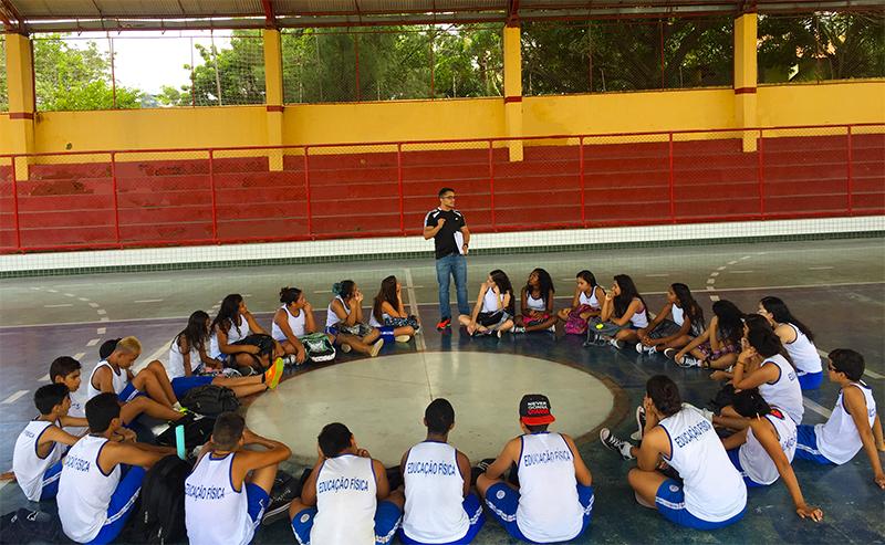 Eusébio realiza projeto Saúde Mais nas escolas da Rede Municipal