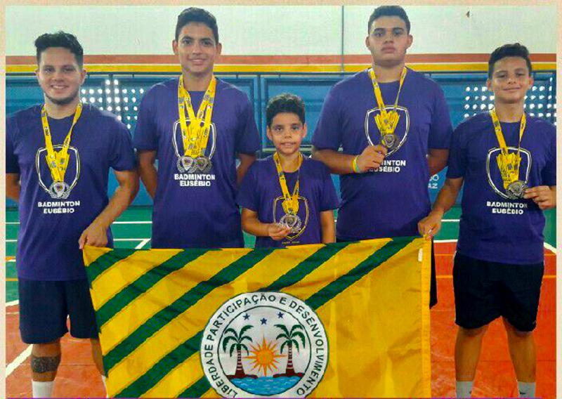 Seleção de Badminton de Eusébio realiza bela campanha no Maranhão