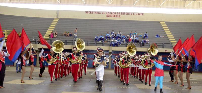 Banda Marcial do Eusébio participa da Copa Norte e Nordeste