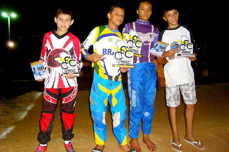 Atletas do Eusébio se destacam no Campeonato Cearense de Bicicross