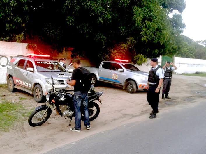 Blitze de Saturação apreende cinco motocicletas