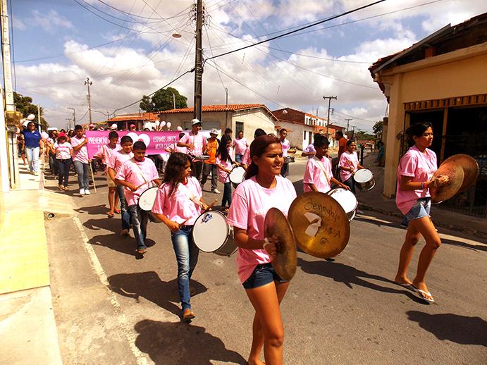 Caminhada da Prevenção acontece no bairro Santo Antônio