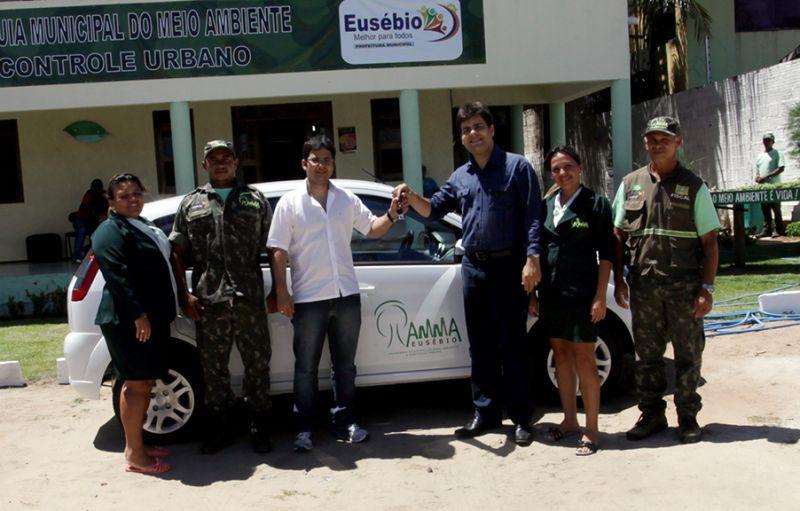 AMMA recebe veículo para apoiar fiscalizações