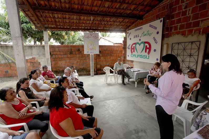 Conselho da Mulher realiza reunião ampliada no Cauassu