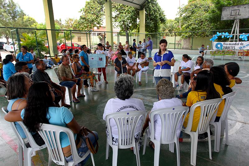 Eusébio realiza ação preventiva contra Diabetes