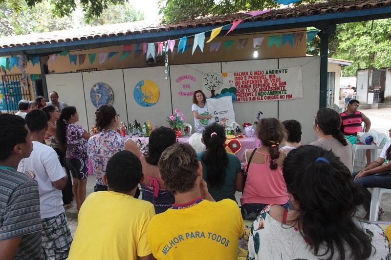 AMMA encerra o evento Eusébio Sustentável com oficinas de reciclagem e eventos culturais