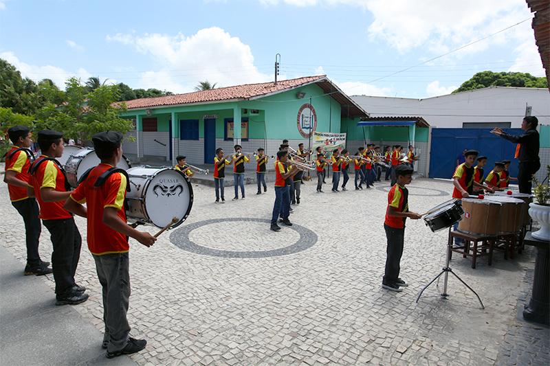 Eusébio realizará I Festival de Bandas e  Fanfarras Escolares