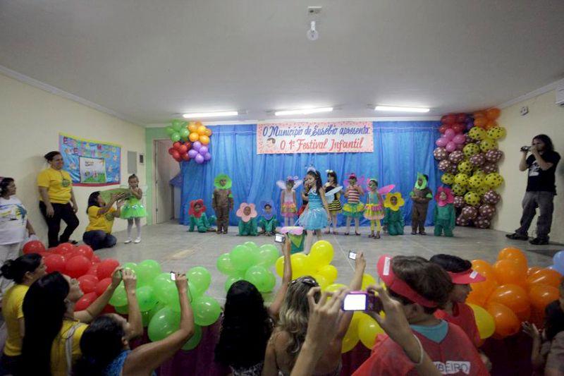 Secretaria de Educação realiza o 1º Festival de Educação Infantil
