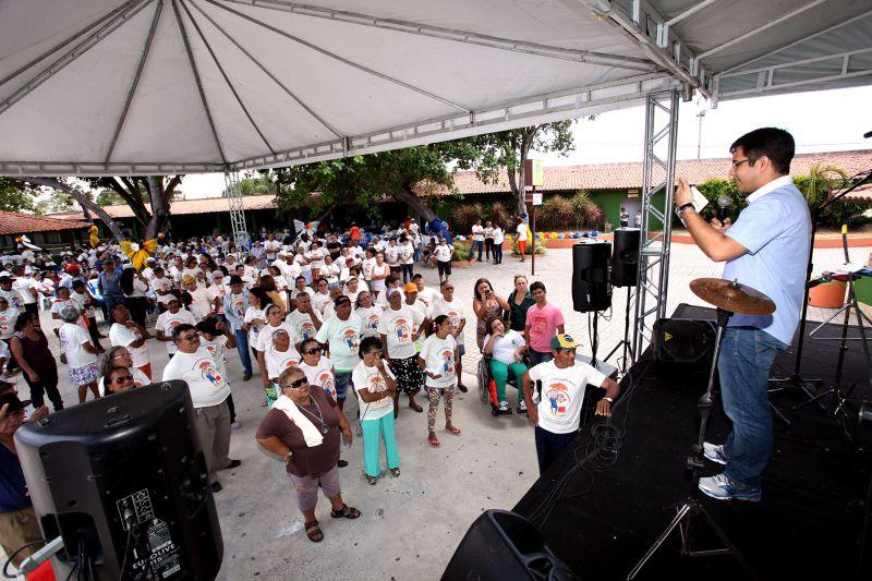 Prefeitura de Eusébio comemora o Dia Internacional do Idoso