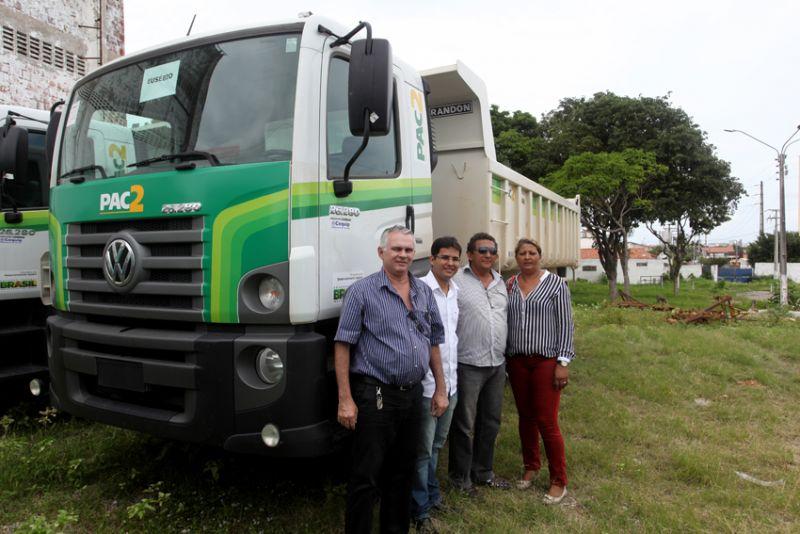 Eusébio é beneficiado pelo PAC Máquinas