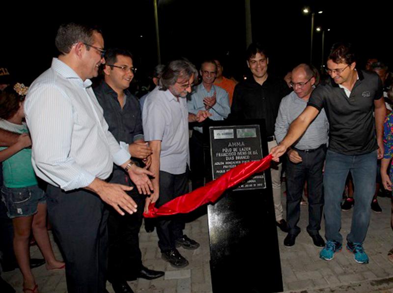 Novo Polo de Lazer é inaugurado com participação maciça da população