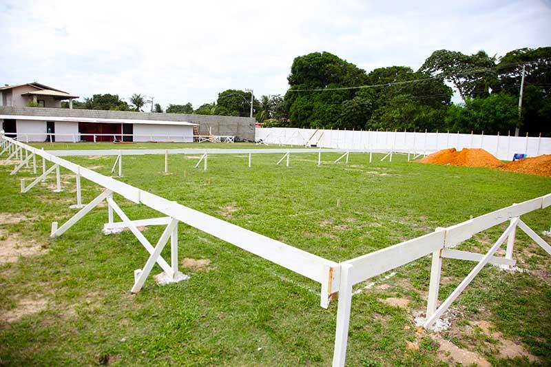 Prefeitura de Eusébio inicia construção de Ginásios Poliersportivos