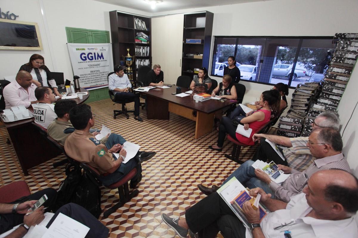Eusébio realiza XII Reunião do Gabinete de Gestão Integrada