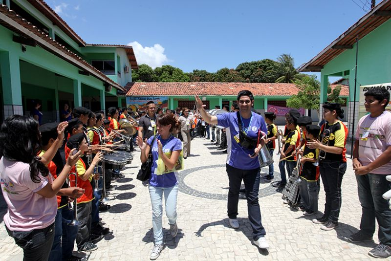 Eusébio receberá comitiva internacional do UNICEF