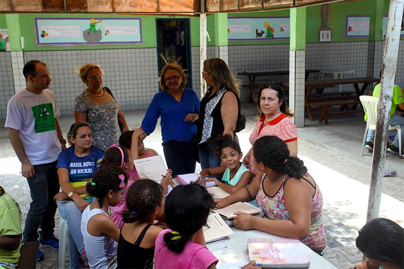 Secretária de Educação de Porto Velho visita Eusébio